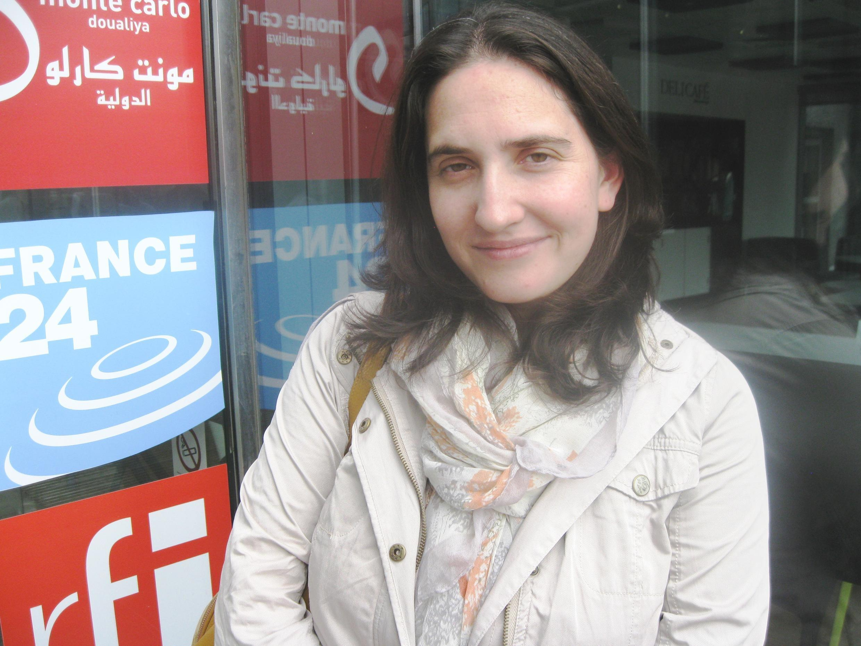 Macarena Gelman en RFI.