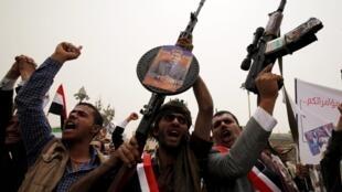 Wasu 'yan tawayen kasar Yemen
