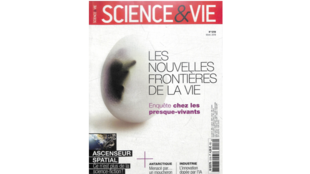 "Couverture «""Science & vie», mars 2019."