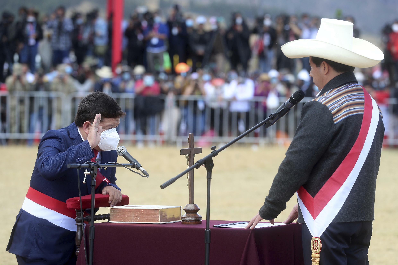 Pedro Castillo Peru july 2021