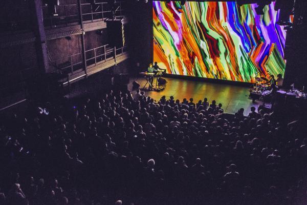 Noite de abertura do Fame 2020, o Festival Internacional de Filmes de Música de Paris.