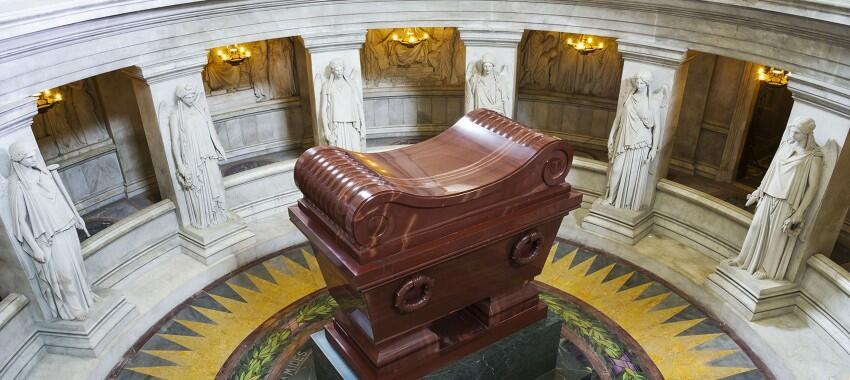 Napoleon Bonaparte's tomb at Invalides, Paris