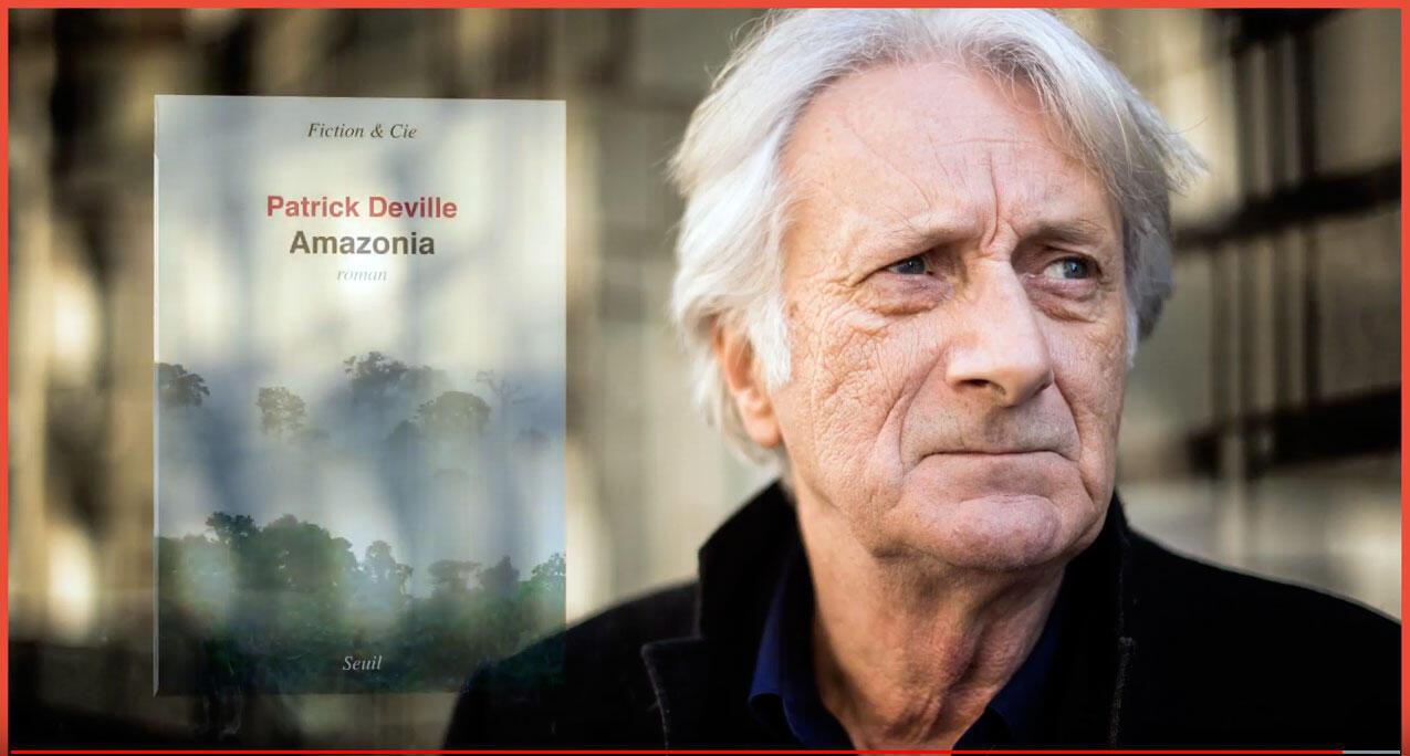Patrick Deville, autor do livro Amazonia.