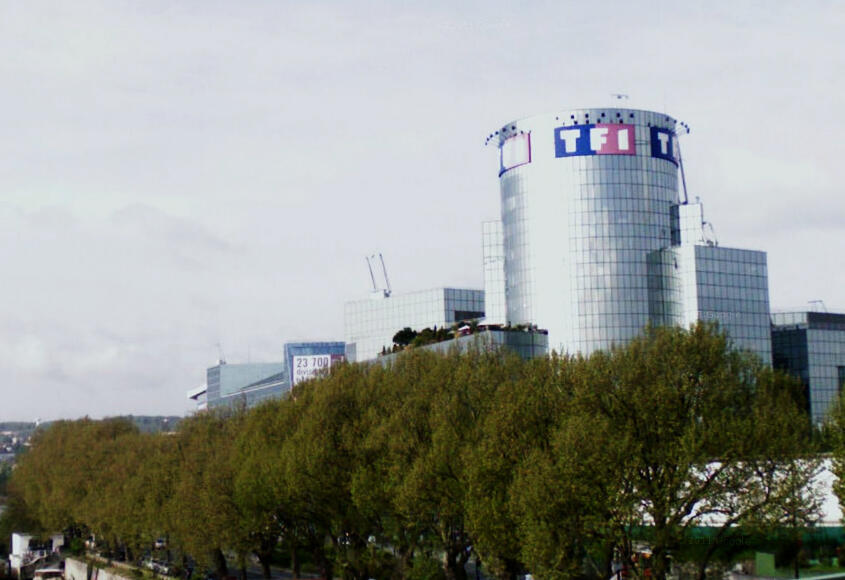 TF1 building in Boulogne-Billancourt
