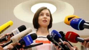 Глава правительства Молдовы Майя Санду