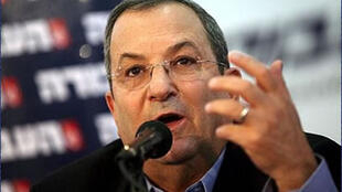 اهود باراک،وزیردفاع اسرائیل-تصویر آرشیوی