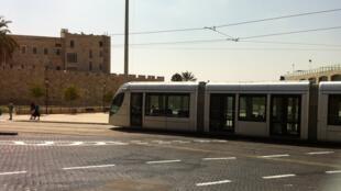 Le tramway de Jérusalem (photo d'archives).