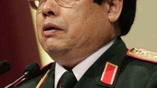 """Bộ trưởng Quốc phòng Việt Nam Phùng Quang Thanh phát biểu tại """"Đối thoại Shangri-La"""", Singapore, 05/06/2011"""