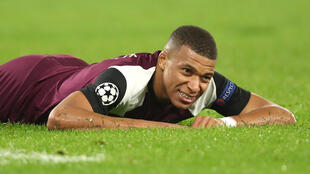 Kylian Mbappé, avançado francês do Paris Saint-Germain.