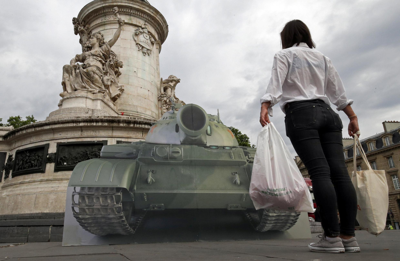 В Париже правозащитники напомнили о событиях на площади Тяньаньмэнь