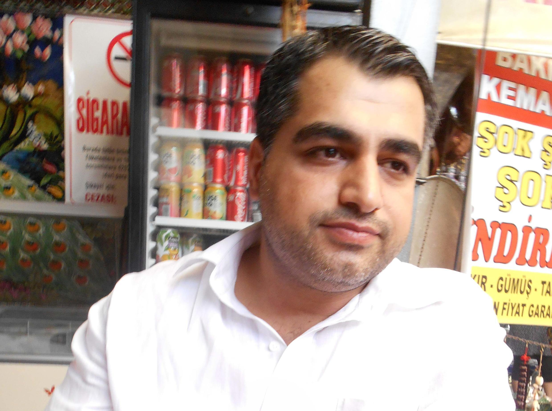 Lawyer Edip Yigit in  Diyarbakir