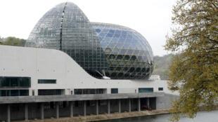 La Seine Musicale sur l'île Séguin, à Boulogne-Billancourt, accueille l'édition 2020 des Victoires de la musique.