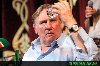 Жерар Депардье собирается открыть сеть своих ресторанов в России