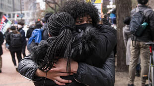 Crowds cheered, cried and celebrated outside the Minneapolis court house where former police officer was found guilty on all three counts for the death of unarmed Black man George Floyd