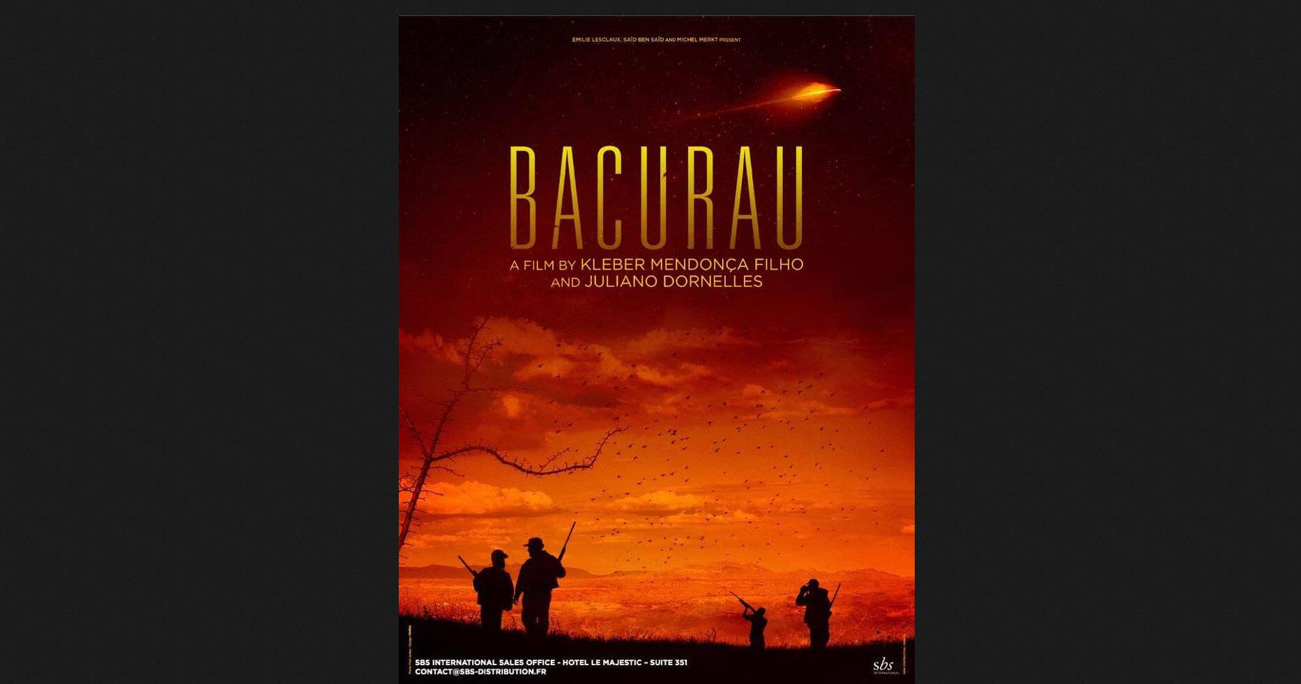 Cartaz de Bacurau, novo filme de Kleber Mendonça Filho