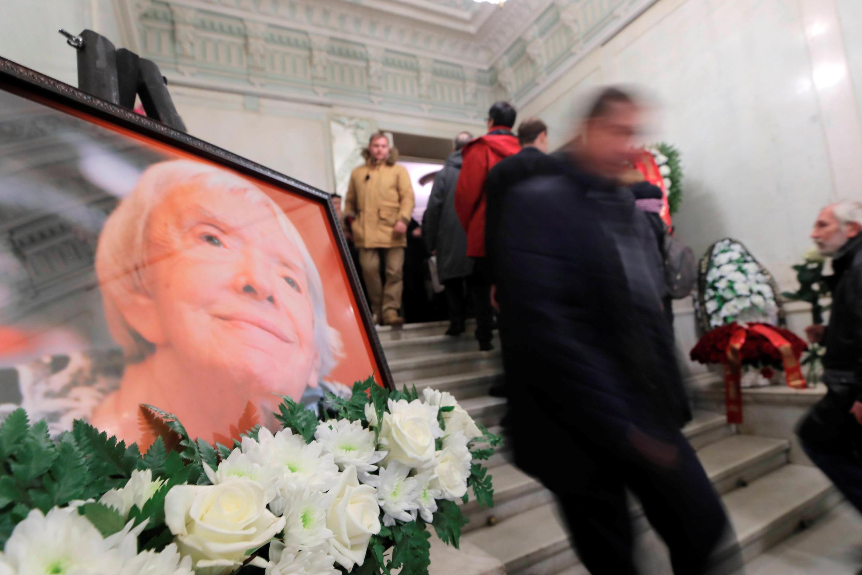 В Москве простились с правозащитницей Людмилой Алексеевой