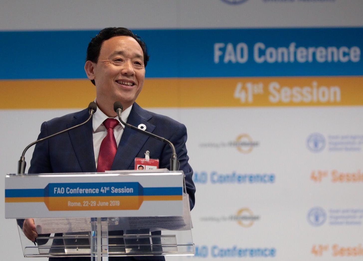 FAO - ONU - Qu Dongyu