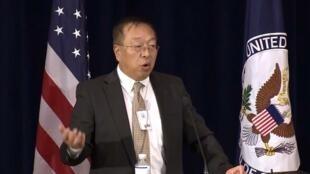 美國首席中國政策顧問余茂春 資料照片