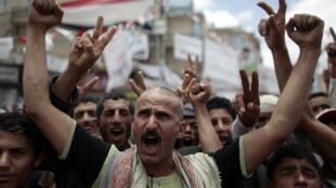 Les manifestations contre le président Saleh durent depuis quatre mois.