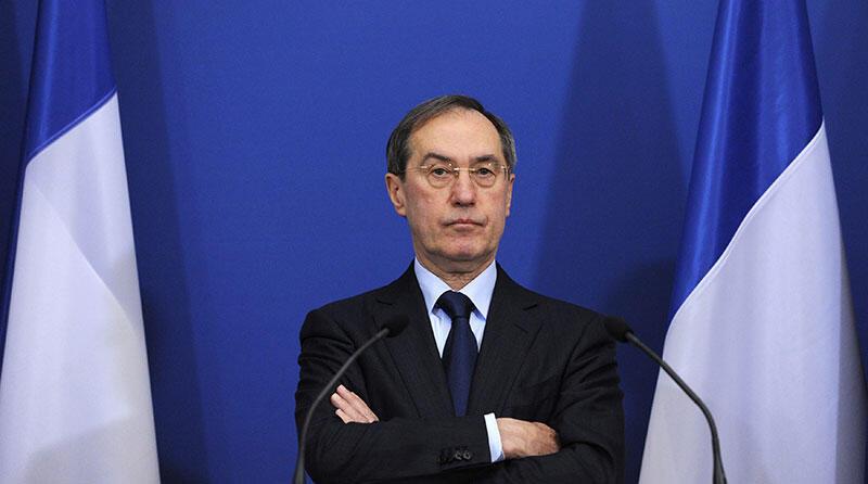 Claude Guéant, ministro do Interior da França.