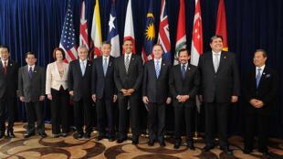 Các nước thành viên Trans-Pacific Partnership (TPP) trong lần gặp tại Chilê (Gobierno de Chile)
