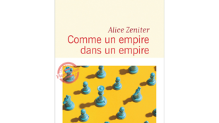 Couverture de «Comme un empire dans un empire», nouveau roman d'Alice Zeniter publié aux éditions Flammarion.