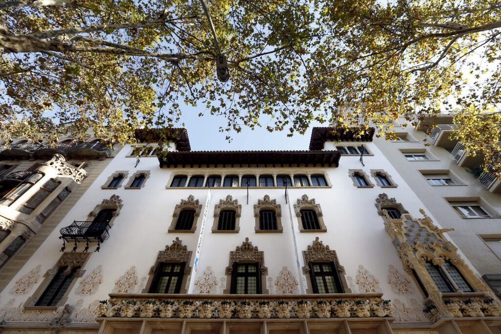 Fachada do Palácio Macaya
