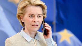 歐盟委員會主席馮德萊恩資料圖片