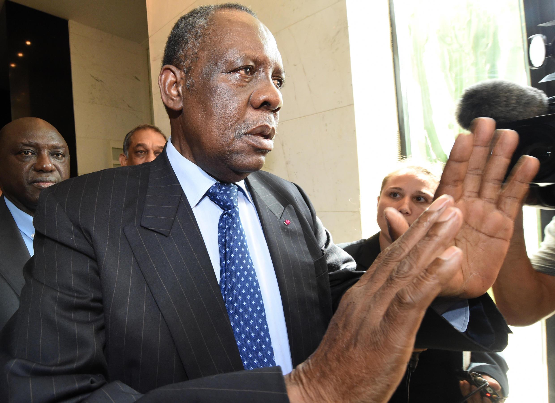 Le président de la Confédération africaine de football, Issa Hayatou.