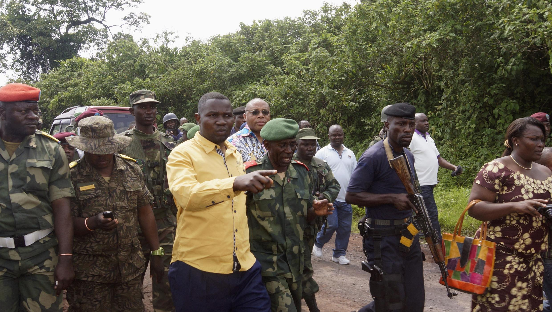 Le gouverneur du Nord-Kivu, Julien Paluku