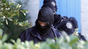 Французский полицейский спецназ GIPN