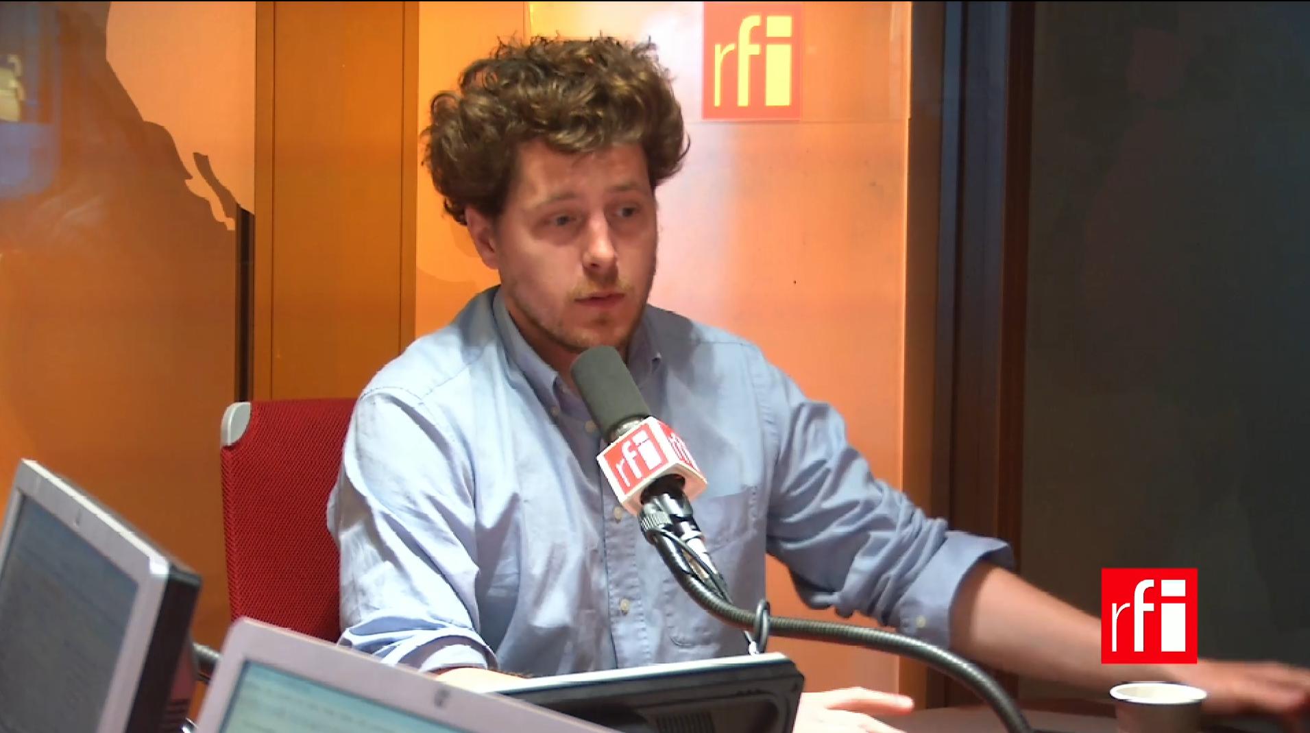 Julien Bayou sur RFI.