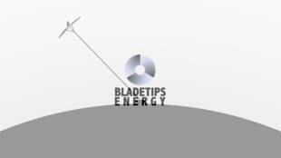Logo de l'entreprise Bladetips Energy qui détient le brevet de l'éolienne «cerf-volant».
