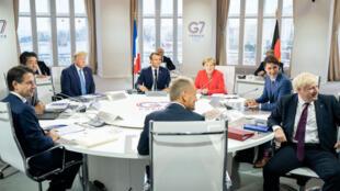 اجلاس سران گروه هفت در شهر بیاریتز فرانسه