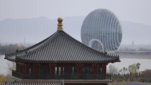 2014年11月11日亞太經合峰會舉辦地點雁棲湖
