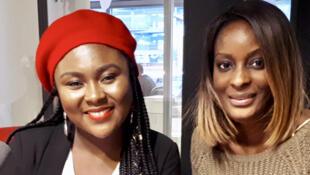 De g. à dr. : Queen et Diara Ndiaye.
