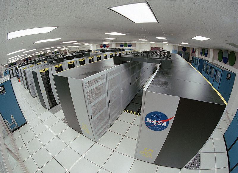 Nasa, nos Estados Unidos, possui supercomputadores.