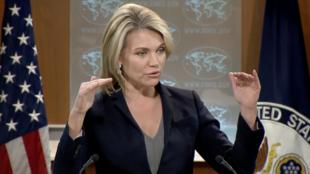 هیدر نوئرت، سخنگوی وزارت خارجه آمریکا - تصویر از آرشیو