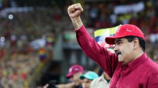 Shugaba Nicolas Maduro na Venezuela