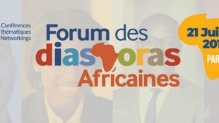 L'affiche du Forum des Diasporas Africaines.