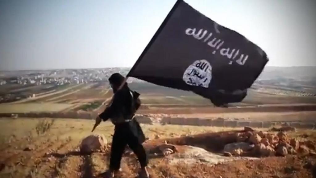 Capture d'écran d'une vidéo de propagande.