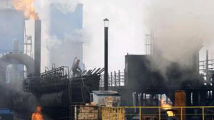 Changzhi, l'usine de transformation de charbon dans la province chinoise de Shanxi.