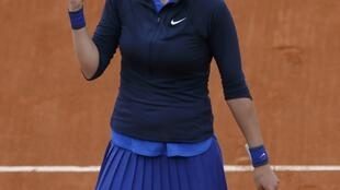 Petra Kvitova needed three sets to advance to round two of the 2016 French Open.