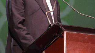 Le Président de la CAF, Issa Hayatou.