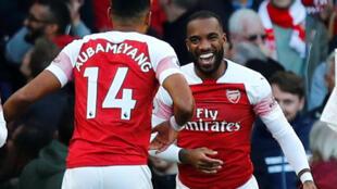 Nyota wa Arsenal Alexandre Lacazette na Pierre-Emerick Aubameyang wanatazamiwa kuongoza kikosi cha Arsenal kitakachochuana na Sporting Lisbon ya Ureno