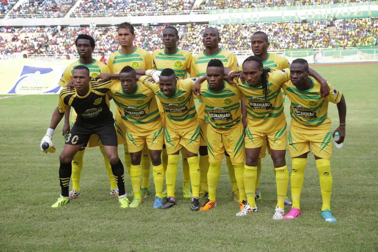 Kikosi cha wachezaji wa klabu ya Yanga FC.