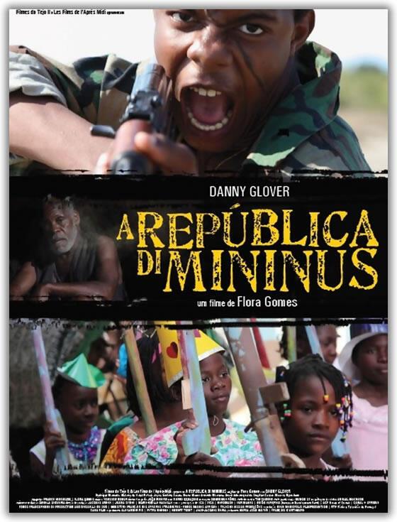 """Cartaz do filme """"A República di Mininus"""", de Flora Gomes"""
