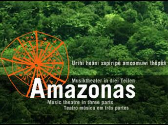 """Imagem do site do projeto """"Amazônia – teatro música em três partes"""""""
