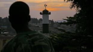 La mosquée de Kimironko dans laquelle officiait l'imam Muhammad Mugemangango, le 25 janvier 2016,