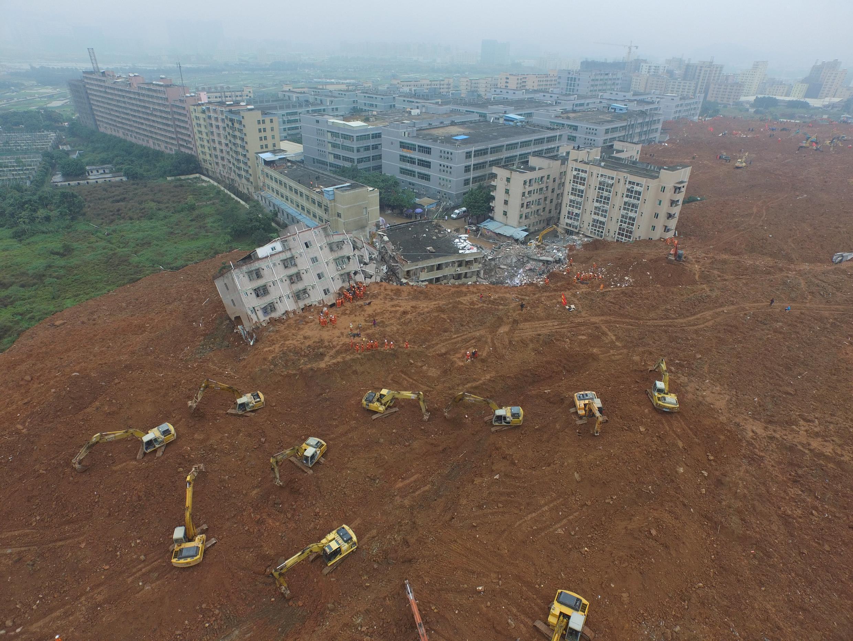 Deslizamento de terra em Shenzhen